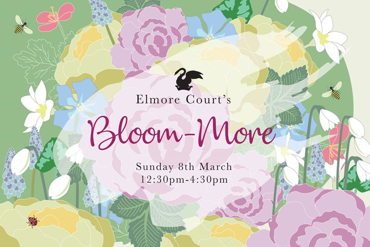 Wedding fair flyer at Elmore Court