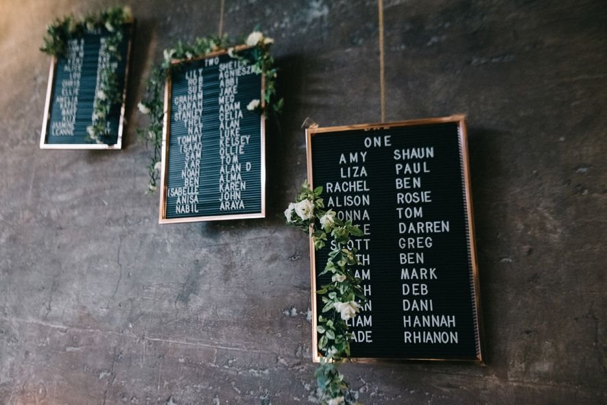 10 Creative Wedding Signs from Real Life Weddings