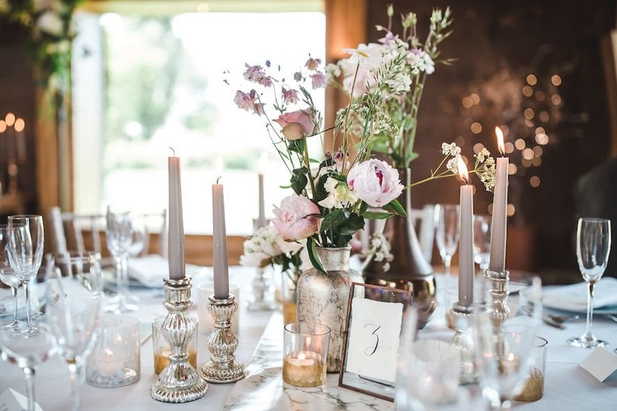 Wedding Trend Alert: Blush, Gold and Grey